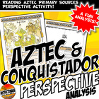 Aztec & Conquistador Shadow Cut Out Activity with Primary