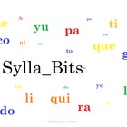 B-L SyllaBits Spanish Compiled Open Syllables Silabas Abiertas
