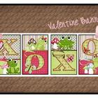 BANNER - Be Mine & XOXO  - Valentine's Day Decor