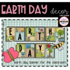 BANNER - Earth Day Decor