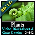 BBC Life - Plants Episode - Video Questions Worksheet & Vi