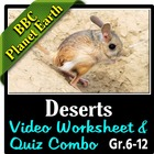 BBC Planet Earth - DESERTS Episode - Video Questions & Vid