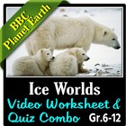 BBC Planet Earth - ICE WORLDS Episode - Video Questions &