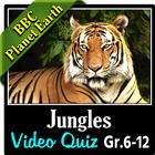 BBC Planet Earth - JUNGLES Episode - Video Quiz