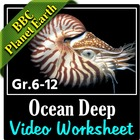 BBC Planet Earth - OCEAN DEEP Episode - Video Questions Worksheet