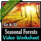 BBC Planet Earth - SEASONAL FORESTS Episode - Video Questi