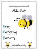 B.E.E. Book Cover Sheet