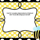 BEES - editable posters