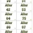 BEFORE BETWEEN AFTER CARD GAME Math Center Aligned Cscope