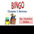 BINGO Review game Order of Operations, expressions with variables