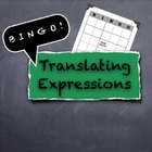 BINGO Translating Algebraic Variable Expressions and Word Phrases