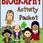 BIOGRAPHY Activity Packet {common core}