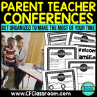 BLACKLINE DESIGN- PARENT TEACHER CONFERENCE PACKET {tips &