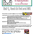 BOB Books Printables for Beginning Readers: Set 1, Book 5