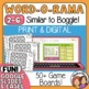 BOGGLE Cards! 24 Different Games with Scoring Sheet