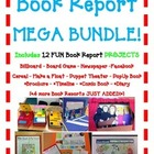 BOOK REPORT 8 Projects MEGA BUNDLE! Board Game-Newspaper-F