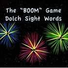 """BOOM"" Dolch Sight Word Game"