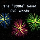 """BOOM"" Game CVC Words"