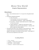BRAVE NEW WORLD - Project - Graphic Representation