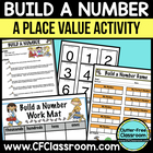 BUILD A NUMBER GAME place value