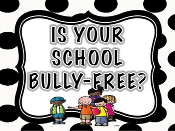 BULLY SIGN FREEBIE (EDITABLE)