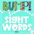 BUMP!  Let&#039;s Learn Words - Set 1
