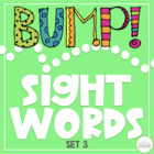 BUMP!  Let's Learn Words - Set 3