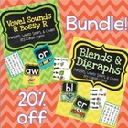 BUNDLE - Blends, Digraphs, Vowels, & Bossy R