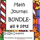 BUNDLE: First Grade Math Journals aligned to Common Core (