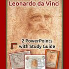 BUNDLE PowerPoint & Activity Guide MathArtist: Leonardo da Vinci