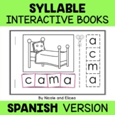 BUNDLE & SAVE - Spanish Syllable Mini-Books (Spanish)