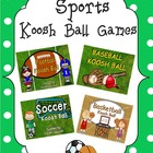 BUNDLE!  Sports Koosh Ball Games  (SMARTBoard)