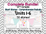 COMPLETE BUNDLE - Wonders 3rd Grade - Guided Reading - UNITS 1-6
