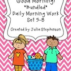 **BUNDLED SET** Daily Morning Work- Sets 5-8