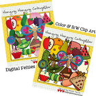 BUNDLED SET: Hungry, Hungry Caterpillar
