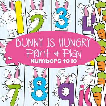 BUNNY IS HUNGRY! - 4 Games to Learn Counting To Ten