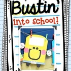 BUStin' into School Craftivity for the Back to School