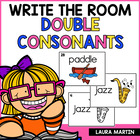 BUZZ OFF Double Consonant Read and Write the Room