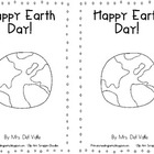 B&W Earth Day Emergent Reader