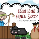 Baa Baa Black Sheep Nursery Rhyme Set