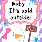 Baby...it&#039;s cold outside! Winter Themed Literacy Centers &amp;
