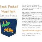 Back Pocket Monsters: Plural FREEBIE