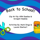 Back To School Activities (First Week/Day of School)