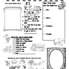 Back To School Activity Booklet for 4th Grade