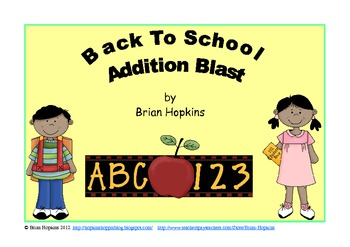 Back To School Addition Blast Strategy Game