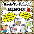 Back To School BINGO Game!