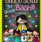 Back To School Bash 3rd Grade {Back to School Unit}