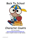Back To School: Character Counts