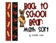 Back To School: Count and Sort
