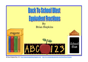 Back To School Fraction Blast Strategy Game